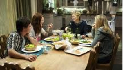 The dinner scene. NYDailyNews.com. Web